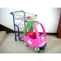 China Children Supermarket Kids Shopping Trolley Series HBE-K-9 with smooth running on sale