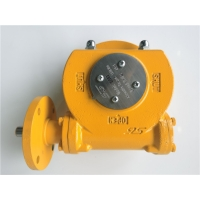 China Ductile Iron Butterfly Valve Gear Operator IP67 With NBR Gasket Electric Actuator on sale