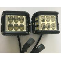 "China 45W 4.5"" Square Automotive Led Driving Lights , 6500k Offroad Truck Work Lights 3800 Lumen wholesale"