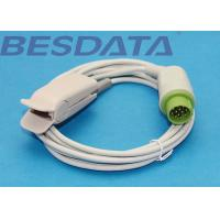 China Besdata SpO2 Sensor Probe Compatible For 12pin Bruker DC-3002 , IH , M3 wholesale