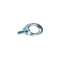 China 410 Stainless Steel Lifting Screw Eye Bolt , M10 Ni-Plated Screw Nut Bolt wholesale