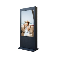 China H81 Interactive Digital Signage Kiosk Thickness 14cm 1920x1080 wholesale