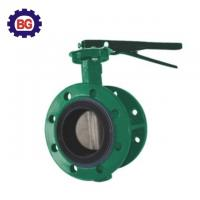 China Best Selling Factory Direct Sell Flanged Body Style Butterfly Valve on sale