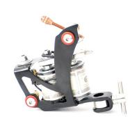 magnetic color tattoo machine with 8 wraps manual winding coil
