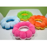 China custom sleeping plush toy   sunflower stuffed toy ,cushion plush toy U-shape pillow wholesale