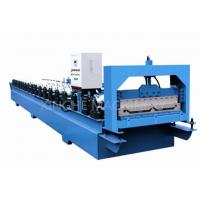 China 4kw Steel Automatic Roll Forming Machines , Glazed Tile Roll Forming Machine wholesale