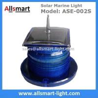 China 2-3NM 15LED Flash Solar Marine Aquaculture Lights With Spike Drive Bird Needle Sea Signal Solar Buoy Security Lamp wholesale