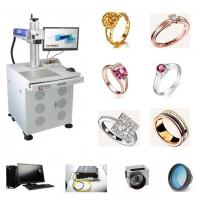 China Sterling Silver Fiber Laser Engraving Machine 18K 24K Jewelry Gold For Metal wholesale
