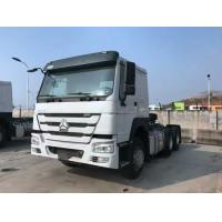 China Tractor Truck SINOTRUK HOWO RHD 10 Wheels 371HP Single bed ZZ4257N3241W wholesale