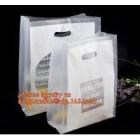 China 100% Biodegradable Hdpe/Ldpe Die Cut Patch Handle Personalized Color Printed Custom Plastic Shopping Bags bagease bagpla wholesale
