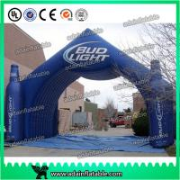 China Beer Or Coke Cola Small Bottle Shaped Outdoor Advertising Inflatable for promotional wholesale