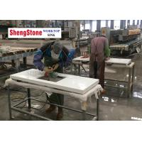 China Nano White Polishing Crystal Glass Countertops , Nano Crystallized Glass Panel wholesale