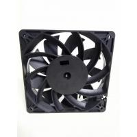 China 12025 Mining Machine Cooling Cross Flow Fans 4300rpm PET Frame / Blade Ball Bearing wholesale