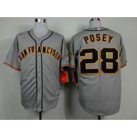 China mlb san francisco giants #28 posey jersey wholesale source wholesale