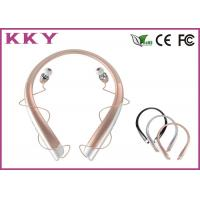 China CVC Noise Reduction Neckband Bluetooth Headphones Mobilephone Headphones wholesale