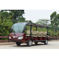 China Outside Electric Shuttle Car / Stiff PC Material Endure Club Car Electric Golf Cart on sale