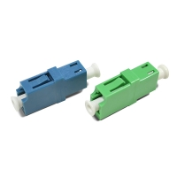 Buy cheap LC-LC SM SX Singlemode Fiber Optic Adapter from wholesalers