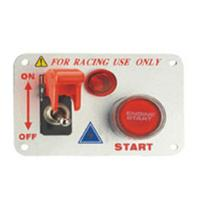 China Auto Toggle Racing Switch Panel With Aluminum Alloy And Plastic Material wholesale