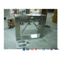 China ESD System Tripod Pedestrian Turnstile Gate For One - Direction Flow Control wholesale