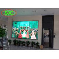China full color p4 smd die-cast aluminum tv led display wall mouted inside building wholesale