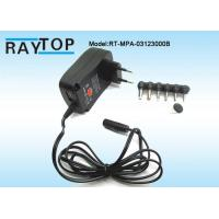 China Usb 5v 1a Universal Ac / Dc 3- 12v Power Adapter 2500ma Short Circuit Protection wholesale