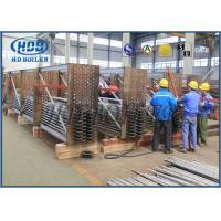 China Flue Gas Cooler and  Air Cooled Heat Exchanger Hot Oil Heat Exchanger for Heat Stenter Machine wholesale