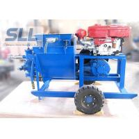 China Single Cylinder Cement Mortar Pump For Hydropower Construction Convenient Maintenance wholesale