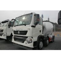 China ISO Standard Concrete Mixer Truck With Reduction Box / Motor 290HP wholesale