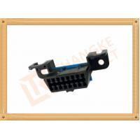 China Automotive 16 Pin Obd Female Connector / Obd2 16 Pin Connector SOF009 on sale