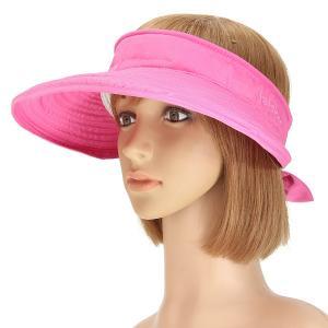 China Foldable Face Neck Visor Caps For Women , Anti - UV Wide Brim Sun Protection Visor Hat wholesale