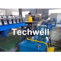 China High Efficient Storage Shelf Rack Roll Forming Machine With Material Thickness 2.0-2.5mm wholesale