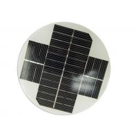 China Small Size Round Solar Panel OEM Dimension With High Module Conversion Efficiency wholesale