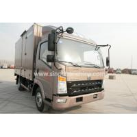 China 4610*2310*2115 Light Duty Commercial Trucks , 6 Wheels Cargo Van Box Truck  wholesale