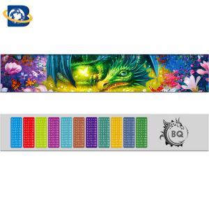 China Fantastic 3D Lenticular Printing Ruler 0.9mm PET+157g Paper Material wholesale
