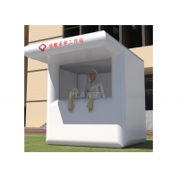 China Portable Hospital Equipment Inflatable Urgency Nucleic Acid Sampling Workstation System Station Extraction Tent wholesale