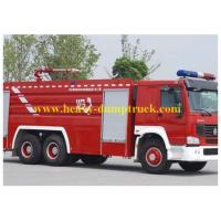 China Water and foam Fire Fighting Trucks With dry powder Aerial ladder wholesale