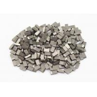 China High Wearable Tungsten Carbide Saw Tips For Hardwood , Carbon Steel , Cork, YG6 ,YG6X wholesale