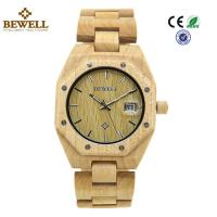 China Custom Stable Personalized Mens Wooden Watch Environmentally Friendly wholesale