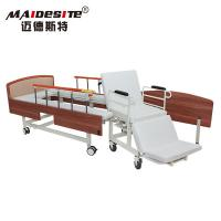 China Simple Design Manual Wheelchair Transfer Bed Anti - Rust Stable Steel Beadboard wholesale
