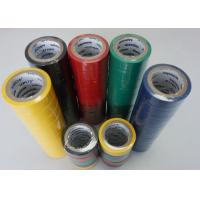 Quality High Voltage Ventilation Colored PVC Electrical Tape 0.19MM Thick High Temperature for sale