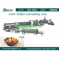 China Fully stainless steel 304 breakfast cereals corn flakes production line wholesale