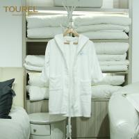 China Cute Children Hotel Quality Bathrobes Warm Comfortable Touch Embroidery Logo wholesale