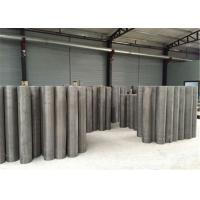 China Chemical Industry Stainless Steel Insect Screen / Diamond Wire Mesh Square Opening wholesale