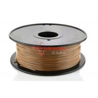 China No Warping LayWood 3D Printer Materials 1.75mm 3mm , 230℃ - 260℃ wholesale