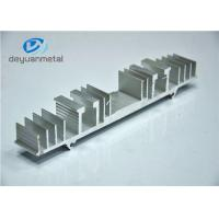 Quality Nature Color Structural Shapes Extruded Aluminum Profiles For Decoration Frame for sale
