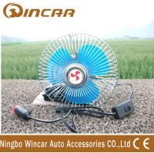 China Off-road accessories Semi-closed Car Fan 6 inch 12V wholesale
