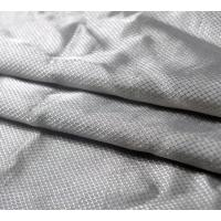 China ripstop conductive silver fabric for touch screen use 100%silver wholesale