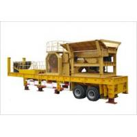 Quality mobile crushing  plant for sale
