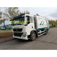 China 4x2 12m3 Sinotruk Howo7 Garbage Collection Truck 290hp 336hp Left Hand Drive Euro2 wholesale