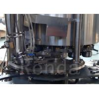 China Can Carbonated Drinks Filling Machine / Gas Drink Bottle Packing Machine wholesale